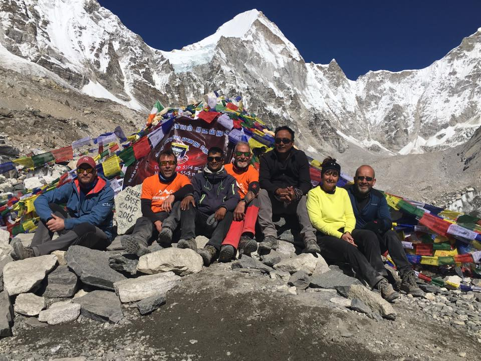 Venture Force Team Reach Everest Base Camp